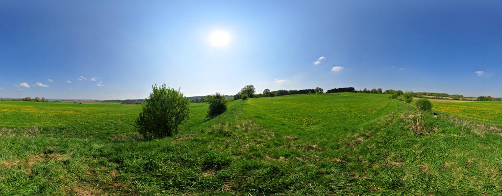 Panorama-Fotografie Ammersee Keltenschanze
